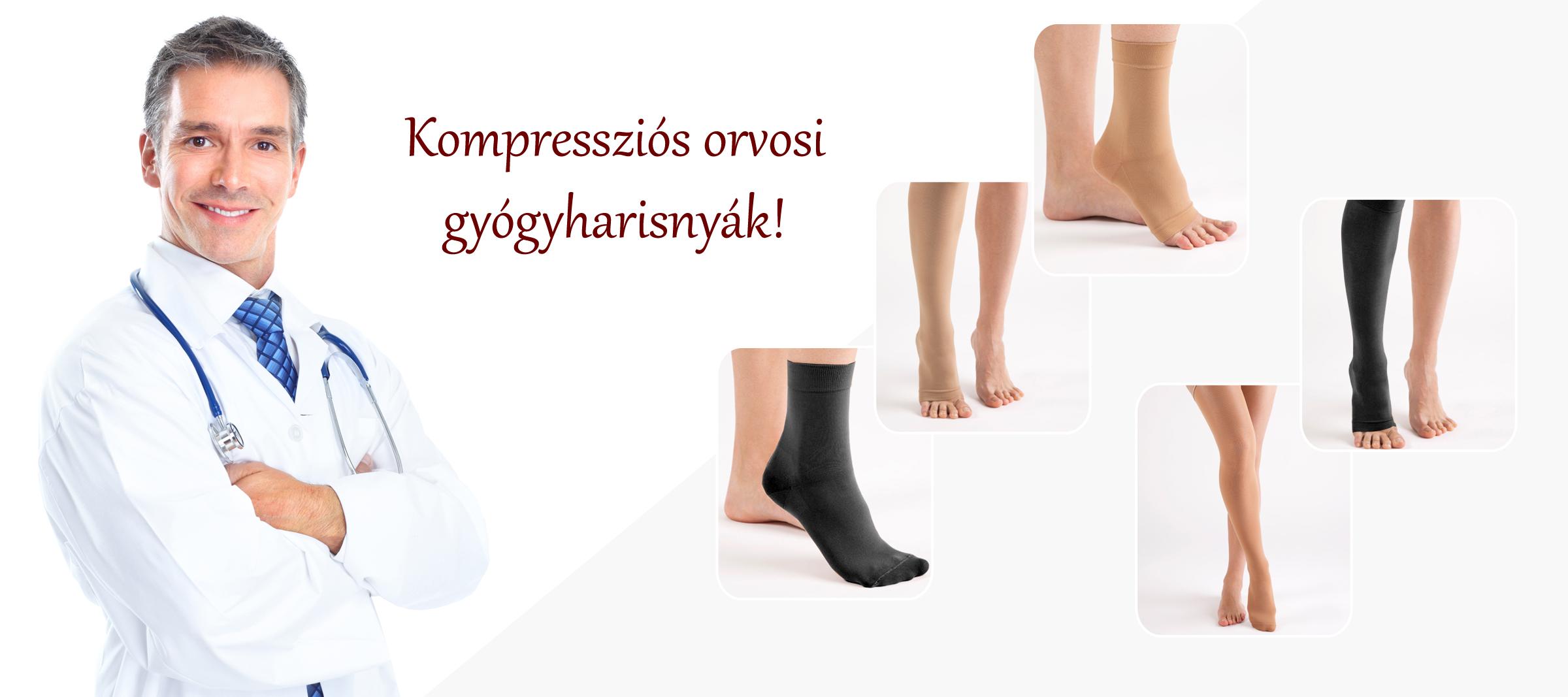 Kompressziós harisnya | Gyógyharisnya | Kompressziós térdharisnya